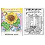 Volunteers Plant The Seeds Of Kindness Adult Coloring Book - Personalization Available
