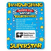 Hand Washing Superstar Magnet - Personalization Available