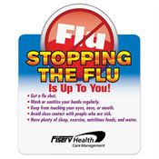 Stopping The Flu Is Up To You Magnet - Personalization Available
