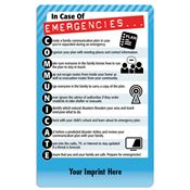 In Case Of Emergencies...COMMUNICATE Magnet - Personalization Available