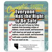 Everyone Has The Right To Be Safe Magnet - Personalization Available