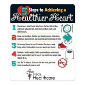5 Steps To Achieving A Healthier Heart Die-Cut Magnet - Personalization Available