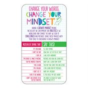 Change Your Words, Change Your Mindset Magnet