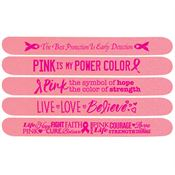 Breast Cancer Awareness Emery Board Assortment Pack