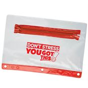 Don't Stress, You Got This! Pencil Pouch