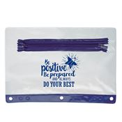 Be Positive, Be Prepared, And Always Do Your Best Pencil Pouch