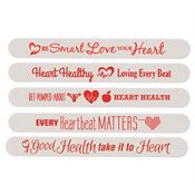 Heart Health Month Emery Board Assortment Pack