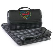 Volunteers Are The Heart Of Our Team Fleece Picnic Blanket