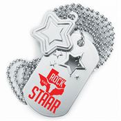 Rock The STAAR Dog Tag