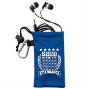 Perfect Attendance Earbuds In Pouch