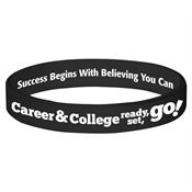 Career & College Ready, Set, Go! 2-SIded Silicone Bracelet