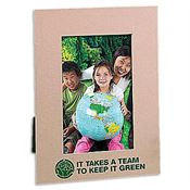 It Takes A Team To Keep It Green Eco-Friendly Recycled Photo Frame