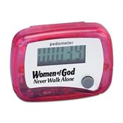 Women Of God Never Walk Alone Pedometer