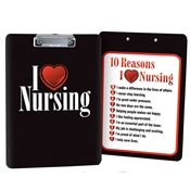 I Love Nursing Clipboard