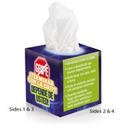 Stopping The Flu Is Up To You! Mini Tissue Box in Spanish (Terminar Con La Gripe)