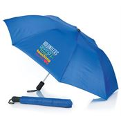 Volunteers: Giving Time Touching Hearts Automatic Umbrella With Sleeve