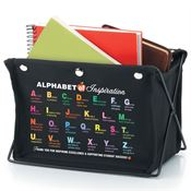 Alphabet Of Inspiration Fabric Desk Caddy