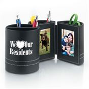 We Love Our Residents Leatherette Desk Caddy