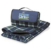 Respiratory Care Breathe Easy...You're In Good Hands Fleece Picnic Blanket