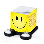 How You Made Them Feel/Maya Angelo Smiley Guy Sticky Note Cube