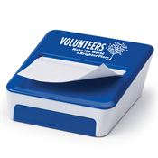 Volunteers Make The World A Brighter Place Sticky Note & Mobile Phone Holder