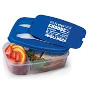 Choose Wellness 2-Section Food Container With Utensils