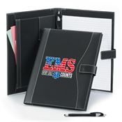 EMS: Every Call Counts Leatherette Portfolio & Stylus Pen