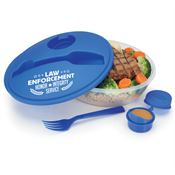 Law Enforcement On-The-Go Food Container
