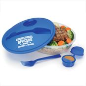 Correctional Officers On-The-Go Food Container