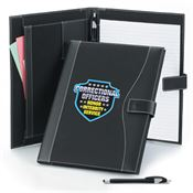 Correctional Officers Leatherette Portfolio & Stylus Pen