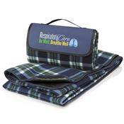 Respiratory Care: Be Well, Breathe Well Fleece Picnic Blanket