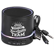 Proud Member Of An Awesome Housekeeping Team Bluetooth® Light-Up Speaker