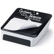 Customer Service: We Listen, We Care, We Make A Difference Sticky Note & Mobile Phone Holder