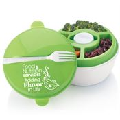 Food & Nutrition Services: Adding Flavor To Life Round Food Container With Compartments