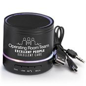 Operating Room Team: Excellent People, Excellent Care Bluetooth® Light-Up Speaker