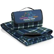 Operating Room Team: Excellent People, Excellent Care Fleece Picnic Blanket