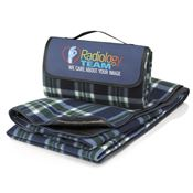 Radiology Team: We Care About Your Image Fleece Picnic Blanket