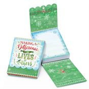 Making A Difference In The Lives Of Others Holiday Magnetic Sticky Notepad