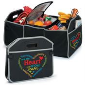 Volunteers Are The Heart Of Our Team 2-in-1 Trunk Organizer & Cooler
