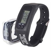 Nurses Go The Extra Mile! Fitness Watch Pedometer