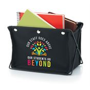 Our Staff Goes Above, Our Students Go Beyond Fabric Desktop Caddy