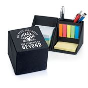 Our Staff Goes Above, Our Students Go Beyond Recycled Note Cube Caddy