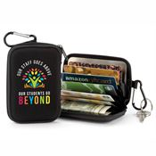 Our Staff Goes Above, Our Students Go Beyond Identity Guard Wallet With Carabiner