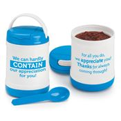We Can Hardly Contain Our Appreciation For You! Hot/Cold To Go Container