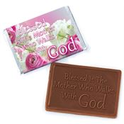Blessed Is The Mother Who Walks With God Chocolate Bar