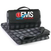 EMS: Your Life, Our Mission Fleece PIcnic Blanket