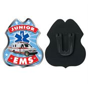 Junior EMS Plastic Badge