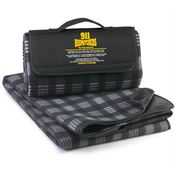 911 Dispatchers: The Thin Gold Line Fleece Picnic Blanket