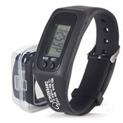 We Love, We Care, We Make A Difference Fitness Pedometer Watch