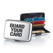 Guard Your Card Identity Guard Aluminum Wallet